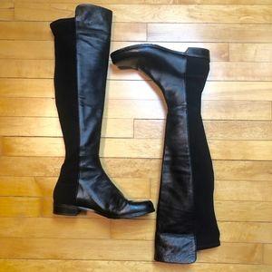Stuart Weitzman 5050 Nappa Leather Knee High Boot